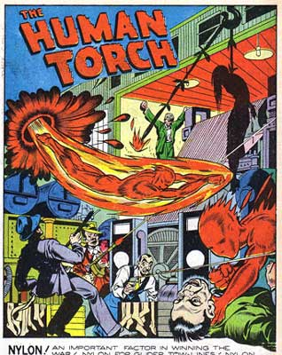The Human Torch, by Jimmy Thompson