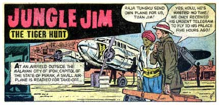 Jungle Jim, by Frank Thorne