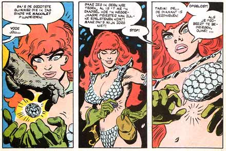 Red Sonja, by Frank Thorne