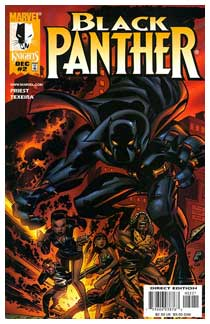 Black Panther, by Bruce Timm