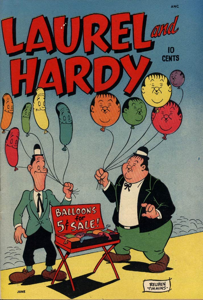Laurel and Hardy, by Rueben Timmins