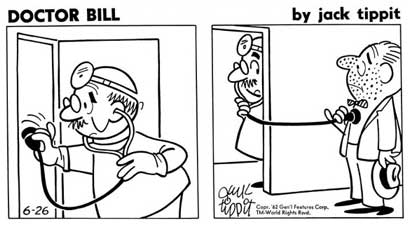 Doctor Bill, by Jack Tippit