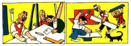 comic art by Tom, 1936