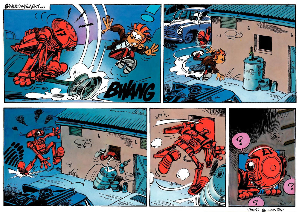 Spirou et Fantasion by Tome & Janry
