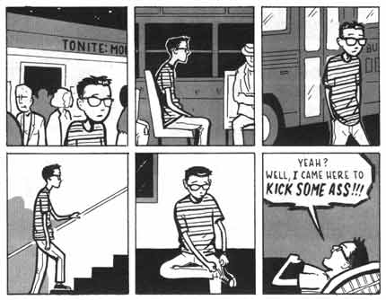 Comeback, by Adrian Tomine