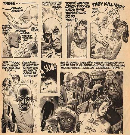 comic art by Alex Toth (1975)