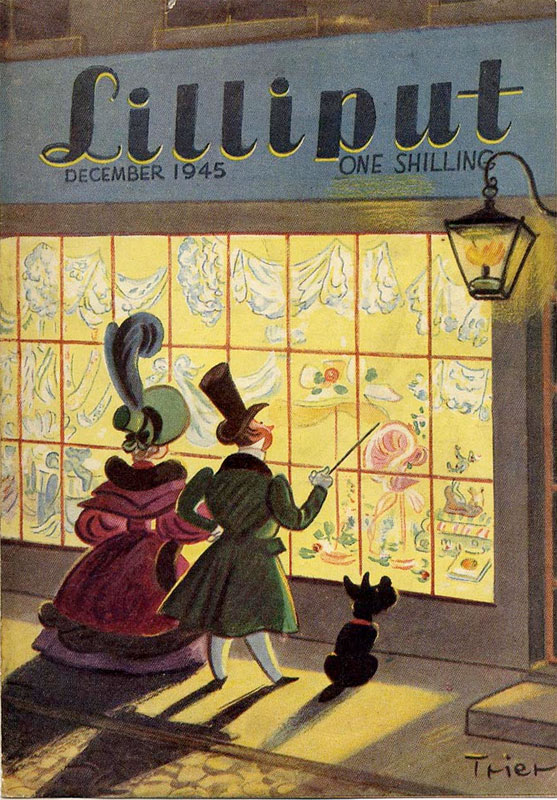 Lilliput cover by Walter Trier