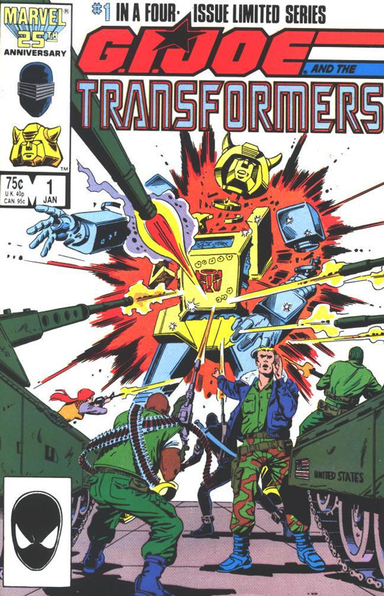 GI Joe/Transformers, by Herb Trimpe