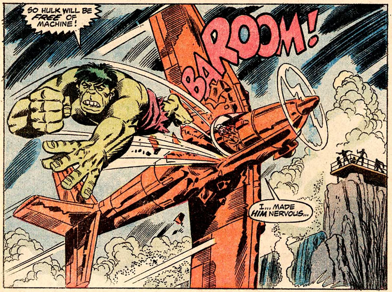 Hulk, by Herb Trimpe (1974)