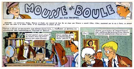 Mousse et Boule, by Jean Trubert (Bravo, 1951)