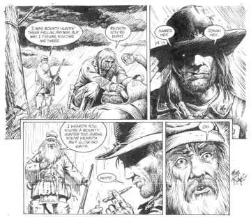 Jonah Hex, by Timothy Truman