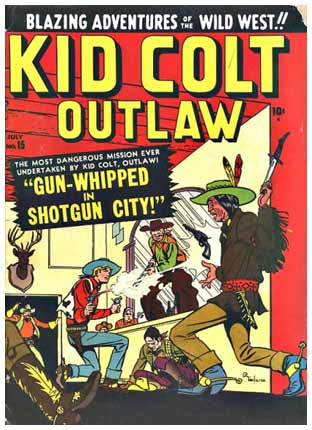 Kid Colt Outlaw, by Pete Tumlinson