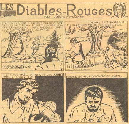 Les Diables Rouges by Paul-Arthur Turcotte