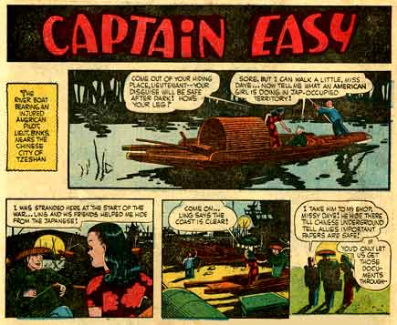Captain Easy, by Les Turner