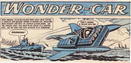 Wonder-Car, by Ron Turner