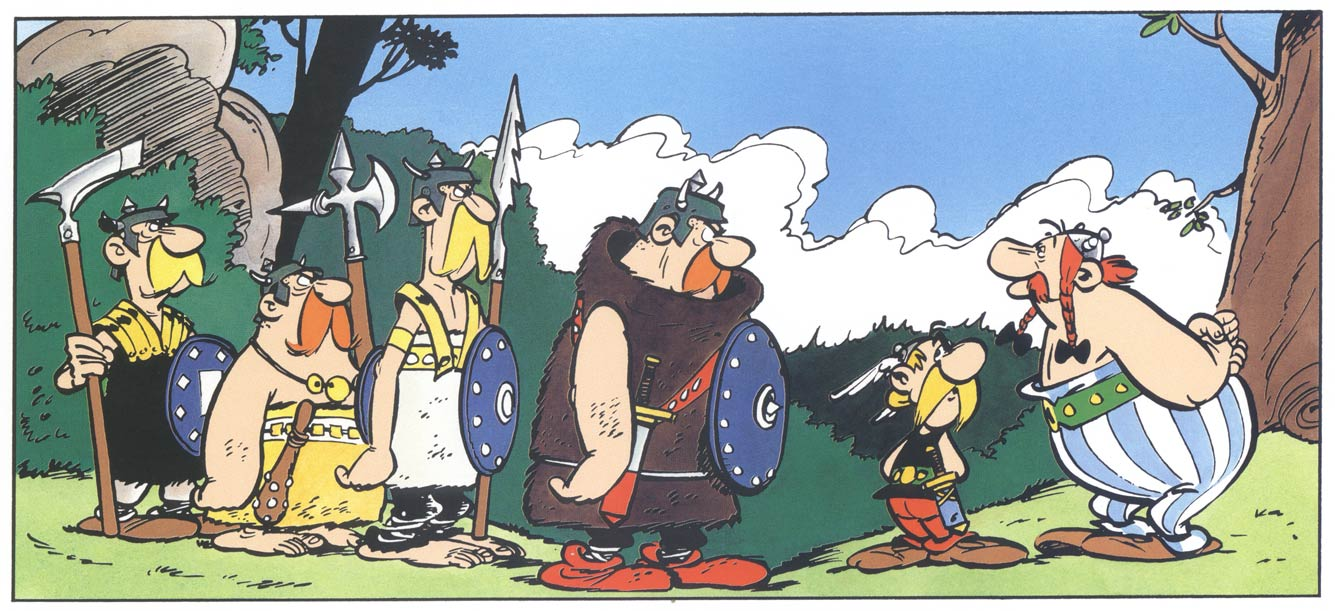 Asterix & Obelix, by Albert Uderzo