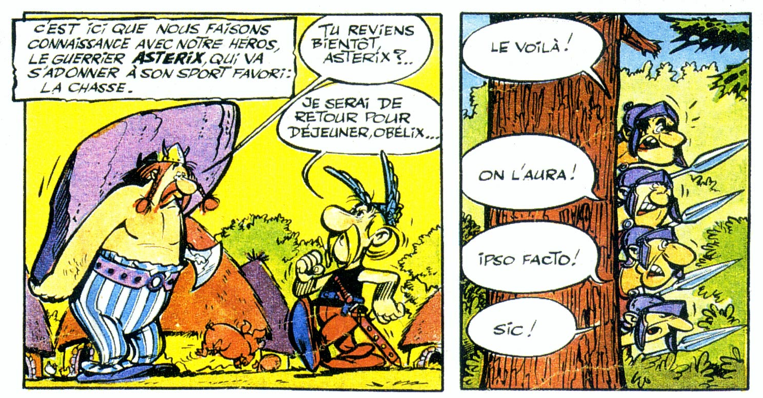 Asterix by Albert Uderzo