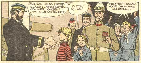 Tom et Nelly, by Albert Uderzo (Risque-Tout #8, 1956)