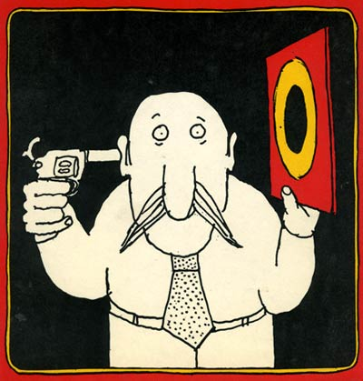 comic art by Tomi Ungerer