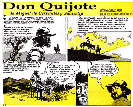 Don Quijote by Roberto Frank Valdés Fortes
