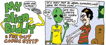 Aliens, by Noah Van Sciver