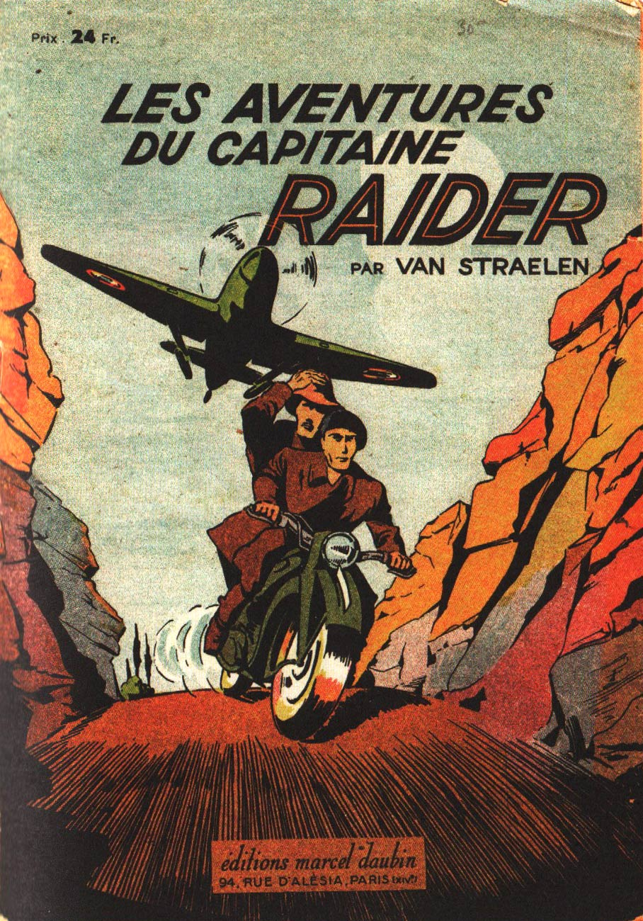 Capitaine Raider by J. Van Straelen