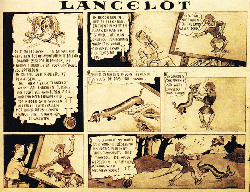 Verwonderend Willy Vandersteen - Lambiek Comiclopedia DY-68