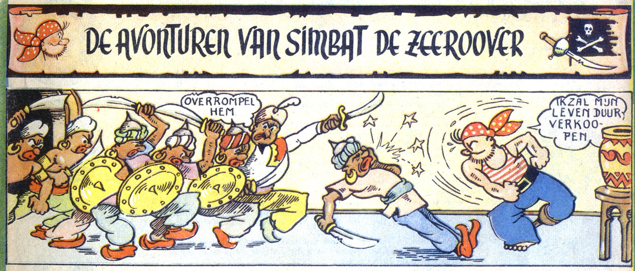 De Avonturen van Simbat, by Willy Vandersteen