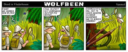 Wolfbeen by Erwin Vanmol