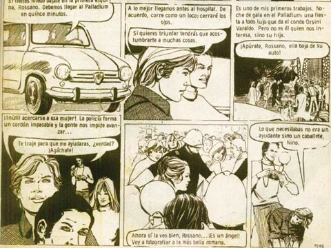1971 comic by Lucia Vergani for Intervalo magazine