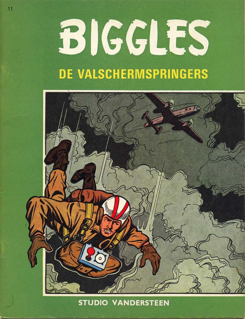 Biggles, by Karel Verschuere