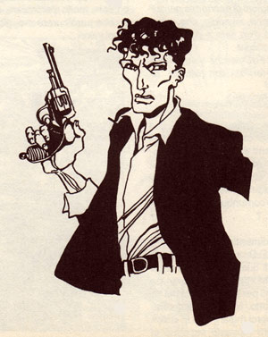 Dylan Dog, by Sebastiano Vilella