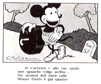 Topolino, by Gaetano Vitelli