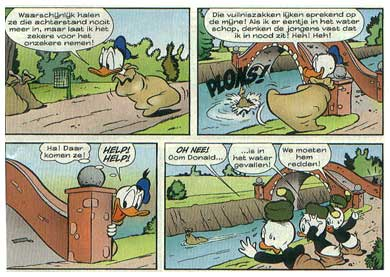 Donald Duck, by Piet Voordes