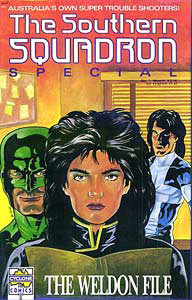 The Southern Squadron, by David de Vries 1989