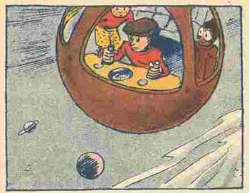 comic art by Otto Waffenschmied