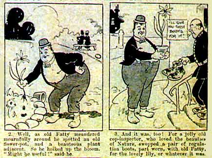 Fatty Arbuckle, by George Wakefield (1920)