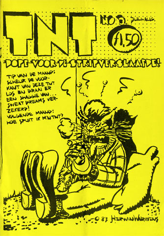 TNT cover by Herwin Walravens
