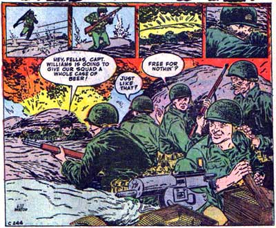 War Comics by Bill Walton
