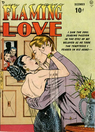 Flaming Love by Bill Ward