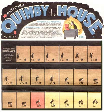 Quimby the Mouse, Chris Ware newspaper comic
