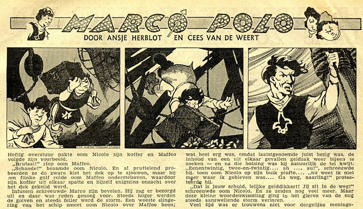 Marco Polo, by Cees van de Weert