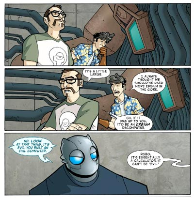 Atomic Robo by Scott Wegener