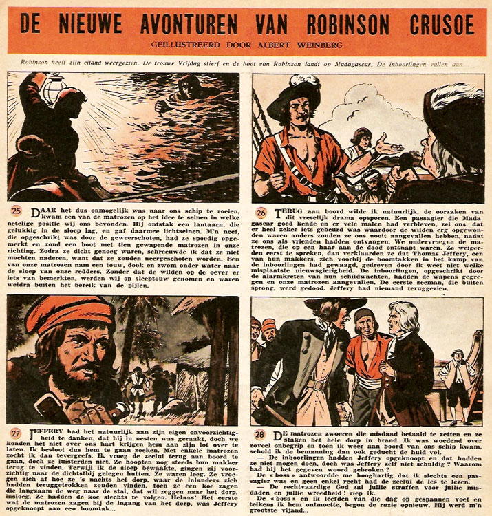 Robinson Crusoe by Albert Weinberg
