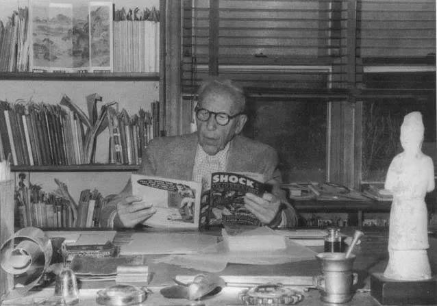 Dr. Fredric Wertham - Lambiek Comics-History
