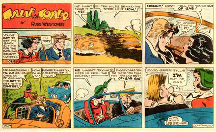 Tillie the Toiler, by Russ Westover (1948)
