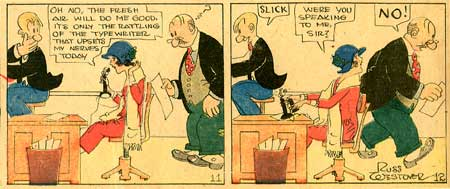 Tillie the Toiler, by Russ Westover (1922)