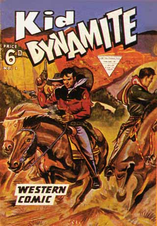Kid Dynamite, by John Wheeler (1954)