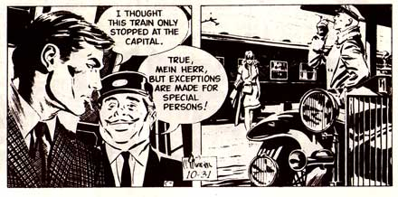 Secret Agent Corrigan, by Al Williamson