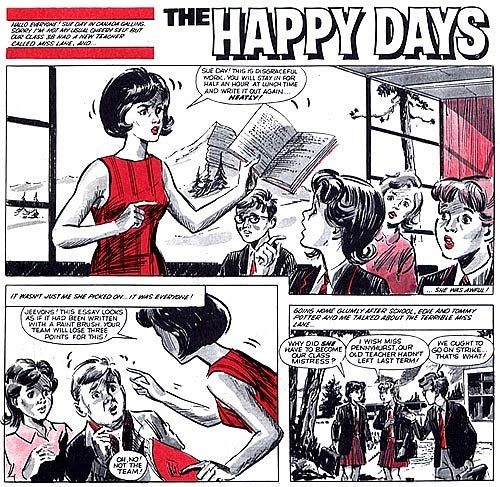 The Happy Days by Andrew Wilson